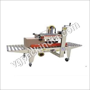 Carton Taping Machine with Top and Bottom Drive