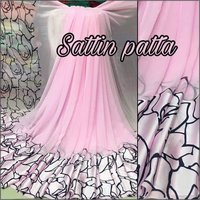 Fancy Satin Patta Saree
