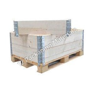 Wooden Pallet with Collars & LD Pallet Cover