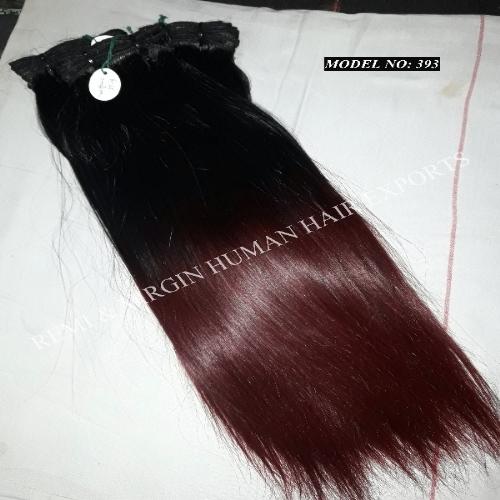 Straight Hair Colour