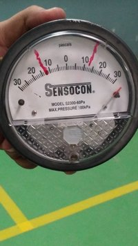 Dwyer 2300-60PA Differential Pressure Gage Range 30-0-30 Pa