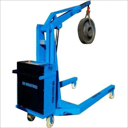 Hydraulic Mobile Floor Crane