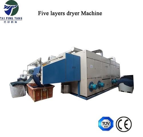 three layers of tension-free drying machine