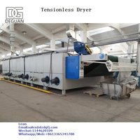 tensionless shrink dryer machine for knit fabrics