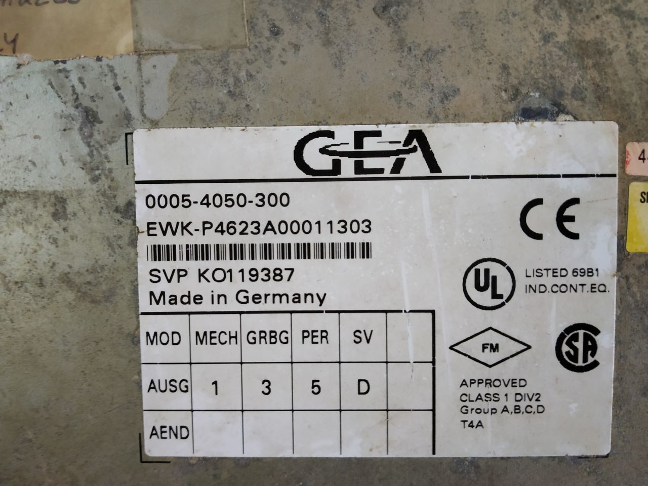 GEA HMI AND PLC 0005-4050-300