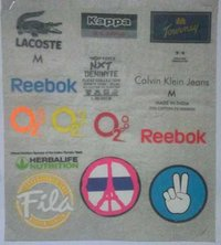 Clothing Heat Transfer Labels