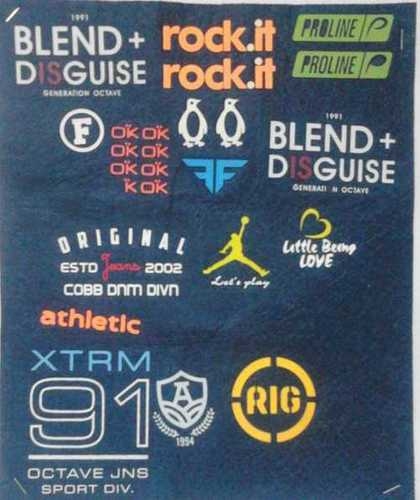 Heat Transfer Clothing Labels