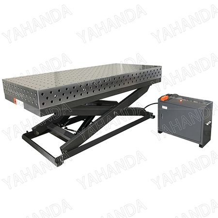 3D Hydraulic Lifting Welding Tables