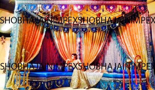 Mehandi Stage Decoration Ideas