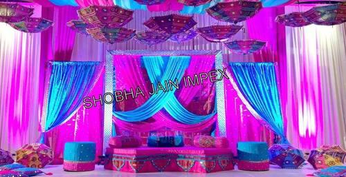 Jaipuri Theme Sangeet Stage