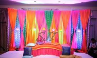 Colorful Sangeet Set Up