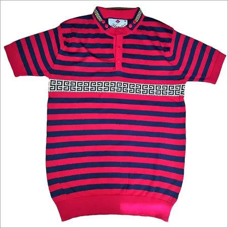 Men's Stripper Flat knitted T-shirt
