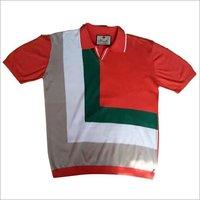 Men's designer Flat Knitted T-shirt
