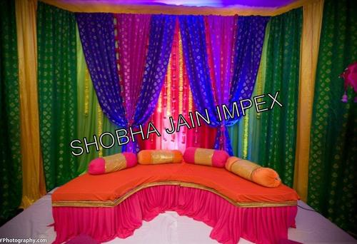 Indian Wedding Mehandi Sangeet Decoration