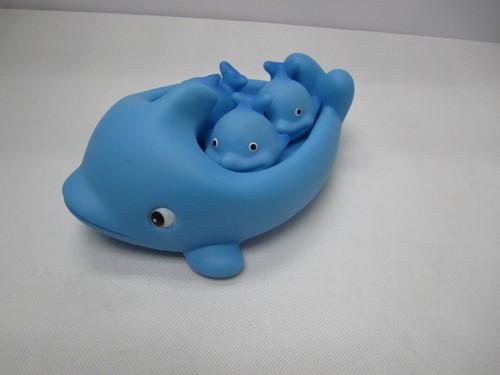 DIY pop vinyl dolphin toy set for children