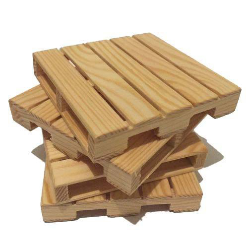 4 Way Brown Pinewood Pallet