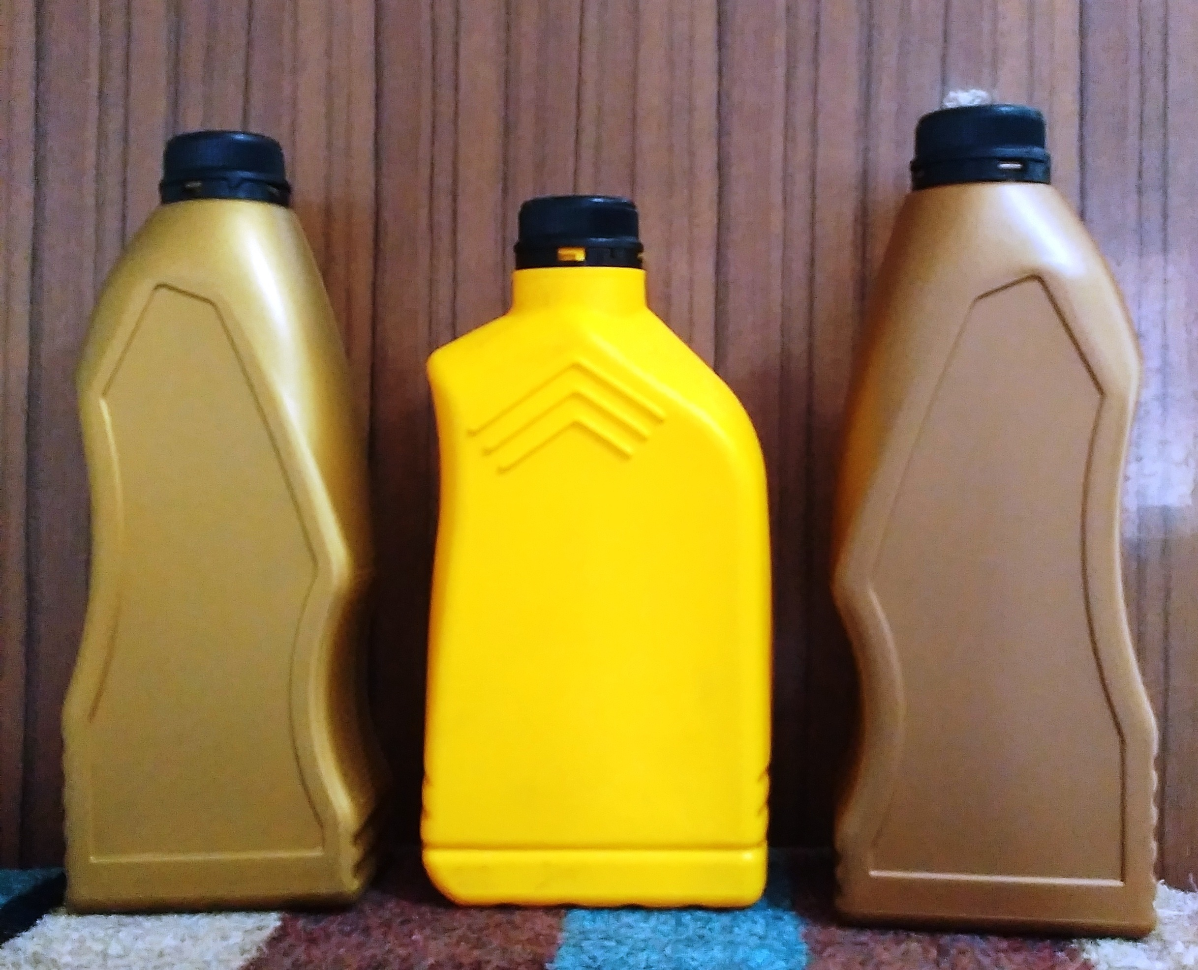 Engine Oil Coolant Cans
