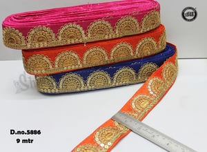 Embroidary Sequence Lace