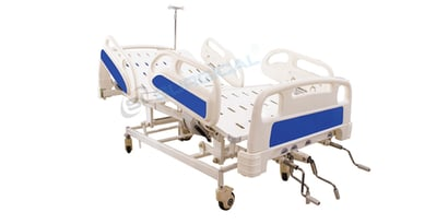 Icu Mechanical Bed (Imported Type) Design: With Rails
