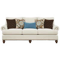 Wooden Three Seater Sofa Set