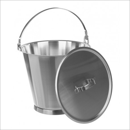 SS Bucket With Lid