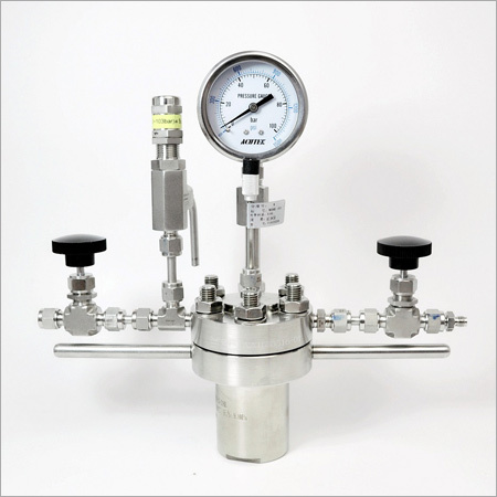 Magnetic Stirred Flanged Hydrothermal Autoclave