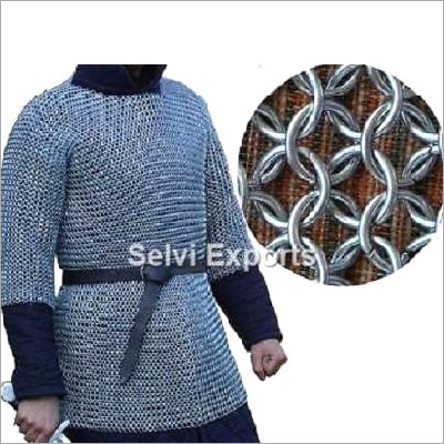 Butted Chainmail Shirt Rust Proof Chain Mail Armour