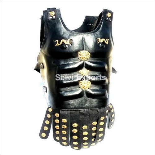 Leather Muscle Body Armour