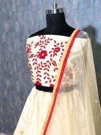 White Wedding Lehenga Choli