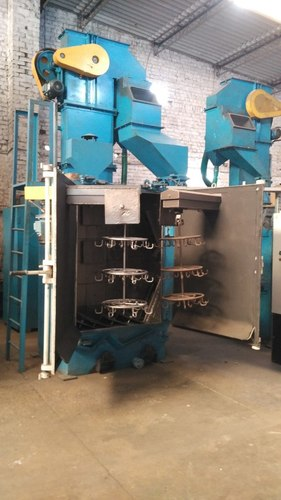 HANGER TYPE SHOT BLASTING MACHINE AB-ASH-8 (2)