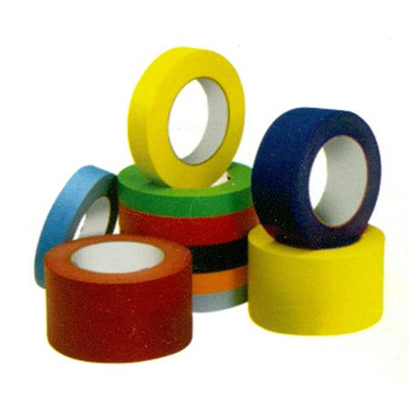 BOPP PVC Coloured Tapes