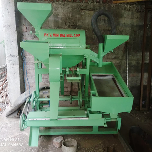 3 HP PKV Mini Dal Mill