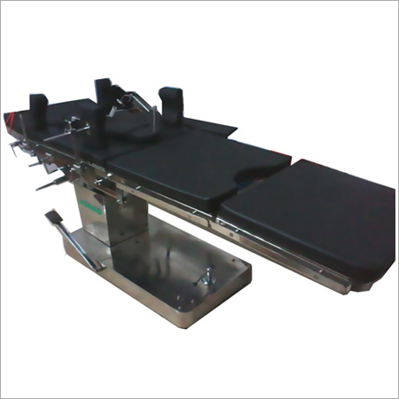 C Arm Compatible Hydraulic Operation Table