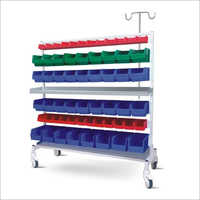 SS Framework Multiple Bins Trolley