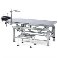 Manual Ophthalmic Operation Table With Height Adjustable