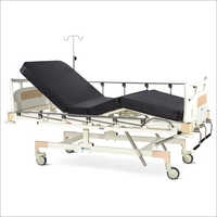 Manually Operated Fixed Height Four Section Recovery Bed