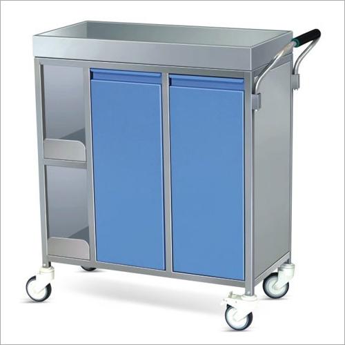 SS Framework Food Serving Trolley