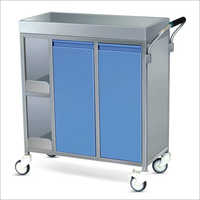 SS Framework Food Serving Trolley