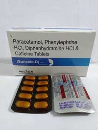 Paracetamol Phenylephrine Hci Caffeine Tab