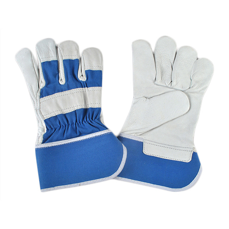 Electrical Blue Gloves