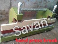 Manual Hand Press Brake Machine