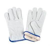 White Canadian Gloves