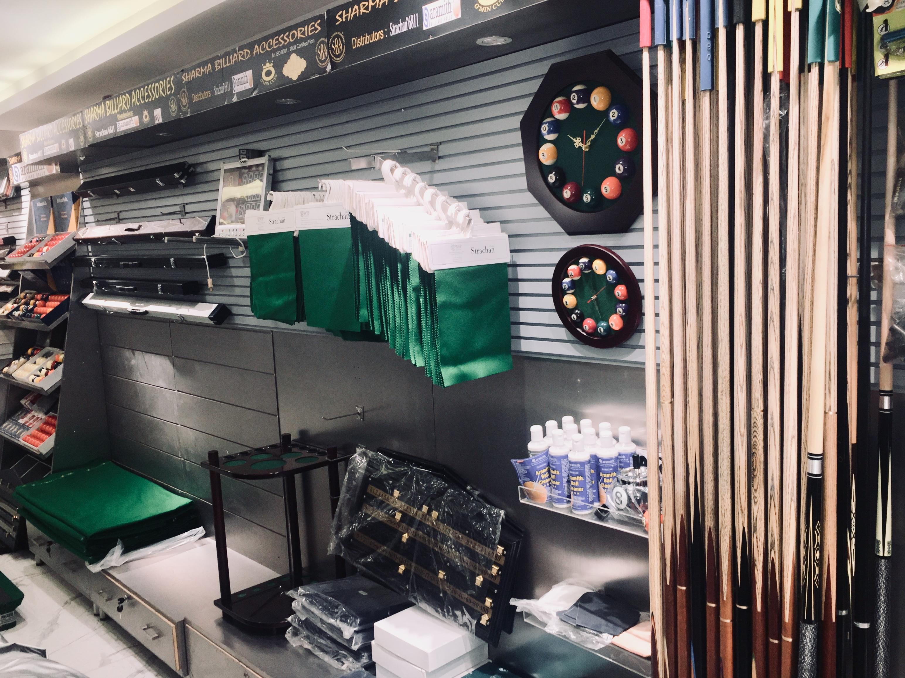 Billiard Room Accessories