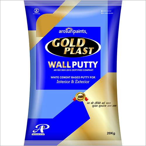 White Cement Based Wall Putty - Manufacturers & Suppliers, Dealers