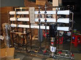 RO Plant 1000 LPH (1 meter cube per hour)