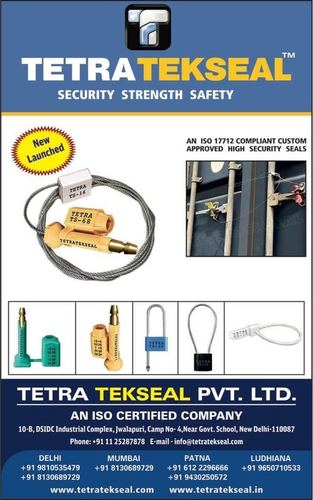 New Launched - Plastic Security Seal