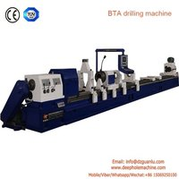 TK2120 series CNC horizontal deep hole drilling and boring machinery for sale