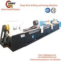 CNC horizontal deep hole drilling and boring machinery