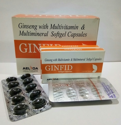 Ginseng Multivitamin Multimineral Softgel Capsules