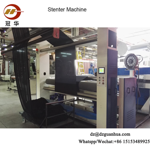 Textile DGLD Type Hot Air Stenter Setting Machine